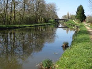 canal  bief de la Chaussé